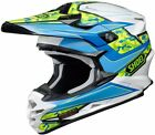 Shoei VFX-W Turmoil TC-2 Adult Medium MD Off Road MX ATV Helmet 0145890205