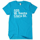 San Jose Hockey Stadium Women's T-shirt S-2X -Sharks Fan Gift SJC Girl Cali Ice