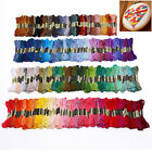 50/100/200X Color Cross Stitch Thread Embroidery Floss Sewing Skeins 100% Cotton