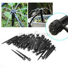 10~50Pcs  Adjustable Water Flow Irrigation Drippers on Stake Emitter Drip System