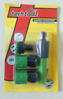 Garden Hose Pipe 4pc Tap Connector Conection Set Fitting Adaptor hoselock