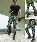 Men camouflage pants Loose camo tactical pants Mans Spring fall cotton trousers