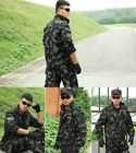 Lots coat + trousers Outdoor clothing Mens camouflage Suit for training sporting