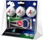 3 Ball Golf Gift Pack with Hat Trick Divot Tool - Various Teams