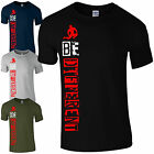 BE Different T-Shirt - MMA Training Gym Bodybuilding Motivational Mens Top