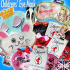 KIDS EYE MASK Travel Flights Help SLEEPING Blackout Blindfold Disney Minnie new