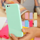 Ultra Slim Cute Soft Silicone TPU Candy Back Case Cover For iPhone 7 6 6S 5 5S 4