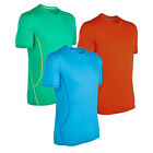 ICEBREAKER AERO Mens New Merino Wool Short Sleeve Crewe
