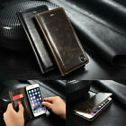 Luxury Leather Case Wallet Card Holder Flip Stand Cover For Apple iPhone SE 5S