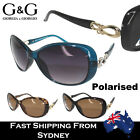 G&G Ladies Baroque Style Sunglasses Oval Shape Polarised Available Light Weight
