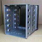 """5.25"""" to 5x 3.5"""" SATA SAS HDD Cage Rack Hard Driver Tray Caddy with Fan Space"""