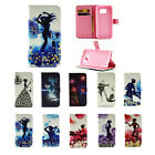 New Diamonds PU Leather Flip Stand Case Cover Shell for Samsung Galaxy S7