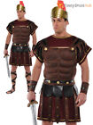 Adults Roman Soldier Set Mens Gladiator Fancy Dress Costume Greek Warrior Outfit