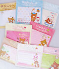Rilakkuma Removable Adhesive Paper / Sticky Notes (Your Choice of Design)~KAWAII