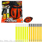 Nerf Sports Flag Football Set - Rugby Gridiron Touch Sport Ball