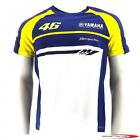 VR46 46  ROSSI THE DOCTOR MENS TOP T-SHIRT YAMAHA TEAMWEAR OFFICIAL LENEVRYAYWB