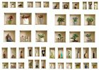 Set 3 Art Wall Stickers 3D Picture Vinyl Removable Home Decor Tile Decals Mural