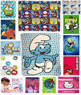 Novelty Characters Kids Fleece Blanket Throws Official, Children