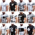BOLF J.Style T-Shirt Herren Classic Kurzarm Tee Party Motiv Men MIX 3C3 Slim