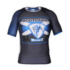 RUGBY SCOTLAND RASH GUARD RASHGUARD SHORT SLEEVE 6 NATIONS CUP WORLD CUP