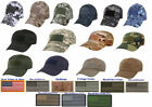 Special Force Low Profile Tactical Adjustable Operator Cap & American Flag Patch