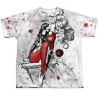 JUSTICE LEAGUE HARLEY QUINN SKETCH Kids Boys Girls Front Print Tee Shirt SM-XL