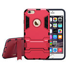 Hybrid Dual Layer Protection Shockproof Cover Stand Case for iPhone 6/6S Plus
