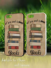 All You Need Is Books Vintage Retro Reader Gift Hard Phone Case Cover 596