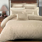 Sara 7 Piece Jacquard Decorative Duvet Cover Set, Super Soft and Cozy Bedding image