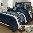 Myra 5 Piece 100% Egyptian Cotton  Duvet Cover Set, Super Soft and Cozy Bedding image