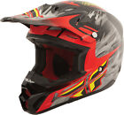 """FLY RACING KINETIC ProSeries """"Shorty Replica"""" Gloss Blk/Red/Lime LARGE"""