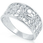 New 925 Sterling Silver Classic Design 9 mm Elegant Wedding Band Ring Size 3-15