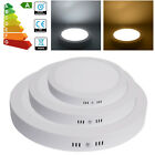 1/2/10x 12W 18W 24W Surface Mounted LED Flat Panel Ceiling Light Round Slim /G4