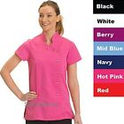 Beauty Healthcare & Hospitality Tunic Front Fastening sizes 8-20 With Action Bac
