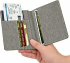 Внешний вид - Premium Vegan Leather Travel Passport Holder RFID Blocking Cards Case Cover