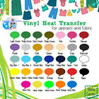 """Heat Transfer Vinyl Apparel Decoration PU 20""""x 5 FT wide Roll, Easy Fast Weed :)"""