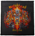 Motorhead Inferno Album Sew On Patch New & Official Band Merch