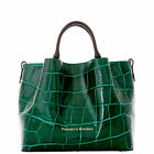 Dooney & Bourke City Croco Large Barlow