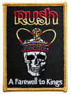 Rush A Farewell To Kings Iron On Patch New & Official Band Merch (Import)
