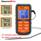 ThermoPro Digital LCD Meat Cooking Thermometer with Timer Oven Grill Thermometer