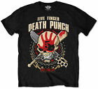 Official Five Finger Death Punch T-shirt Zombie Kill Mens Black Design S - XXL