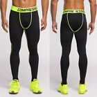 Men Compression Base Layer Weight-lifting Exercise Running Tights Pants