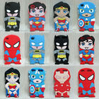Heroes Collection Spider Man and More Soft Back Case Cover Skin for Touch 4 5 6