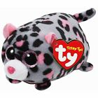 """TY Beanie Babies Teeny Tys Miles The Leopard stackable 3"""" Plush NEW"""
