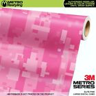 LARGE DIGITAL ELITE PINK Camouflage Vinyl Car Wrap Camo Film Sheet Roll Adhesive