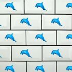 Dolphin Wall Tile Stickers Decal Bathroom Kitchen Bedroom Home Decor Kids