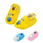 STON Soft Sole Cotton Baby Boy Girl Infant Toddler Slip-on Shoes 0-1 Y