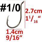 Bulk 100pcs Offset Octopus Circle Fishing Hook High carbon Steel Bass Fishhook