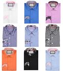 Justing Men's Button Down Long Sleeve Casual Dress Shirt