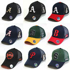 Mesh Trucker Hat Baseball Cap City & Alphabet Logo Summer Cap Adjustable Back